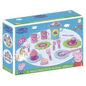 Bildo Tea Set with Sweets Peppa Pig