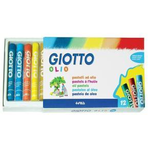 Giotto Παστέλ Λαδιού 7cm Olio 12 τμχ.