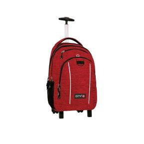 Τσάντα Trolley Mag Melange Red 11452