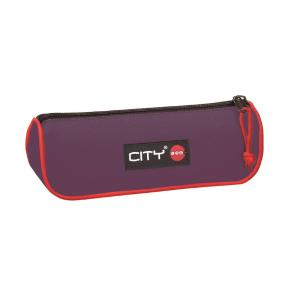 Κασετίνα City Eclair Violet & Red 21799