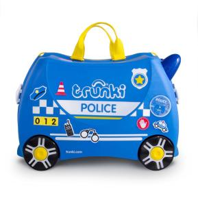 Trunki Βαλίτσα Ταξιδιού Percy The Police Car (0323-GB01)