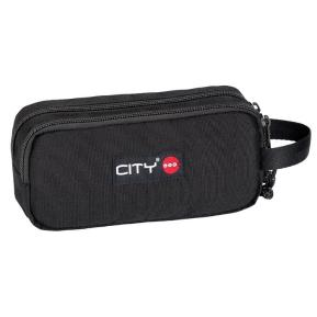 Κασετίνα Lycsac City Zippy 90196 Black Is Back Διπλή