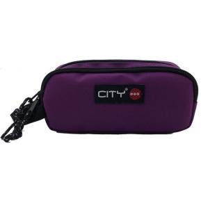 Κασετίνα Διπλή City Zippy Grape Violet 95696