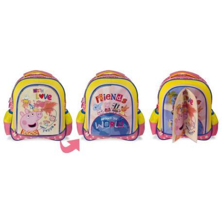 Τσάντα Πλάτης Νηπίου με 3πλο Μαγνήτη Peppa (0482338)-2