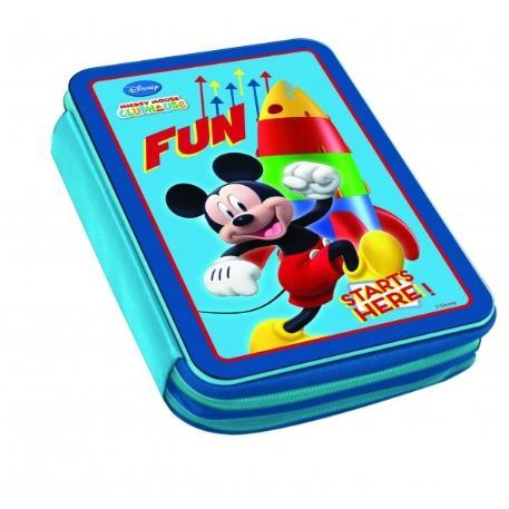 Κασετίνα Μεταλλική Διπλή Γεμάτη Mickey 0560880-0
