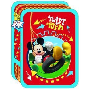 Κασετίνα Ανάγλυφη Διπλή Mickey Mouse Twist 0561005