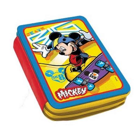 Κασετίνα Διπλή Μεταλλική Γεμάτη Mickey 0561086-0