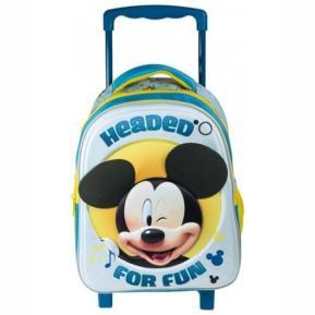 Τσάντα Τρόλεϊ 3d Mickey Mc14