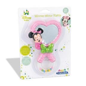 Clementoni Disney Baby Κουδουνίστρα Καθρεφτάκι Minnie