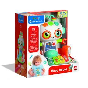 Baby Clementoni Βρεφικό Παιχνίδι Baby Robot Μιλάει Ελληνικά 1000-63330
