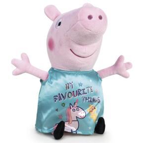 """Λούτρινο Peppa Pig - Peppa Pig """"My favorite Things"""" 28cm"""