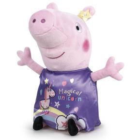 """Λούτρινο Peppa Pig - Peppa Pig """"Magical Unicorn"""" 28cm"""