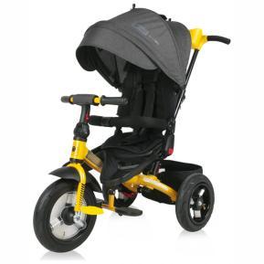 Lorelli Ποδηλατάκι Τρίκυκλο Jaguar Air Black Yellow 10050392101
