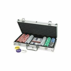 Deluxe Σετ Μεταλλικό Βαλιτσάκι Poker με 300 μάρκες