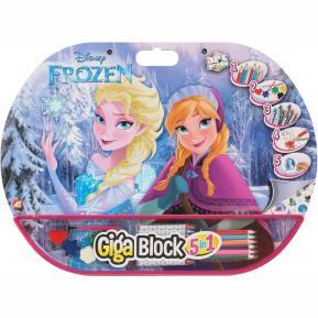 Σετ Ζωγραφικής Giga Block 5 σε 1 Frozen