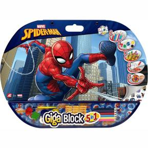AS Company Σετ Ζωγραφικής Giga Block 5 in 1 Spiderman  (1023-62723)