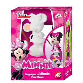 Γύψινο 3D Ζωγραφικής Minnie