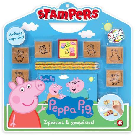 Σφραγίδες Stampers Πέππα-0