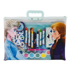 AS Company Σετ ζωγραφικής διάφανη τσάντα Frozen 1023-68001