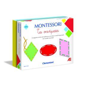 Clementoni Εκπαιδευτικό Montessori Τα Σχήματα (1024-63223)