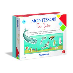 Clementoni Εκπαιδευτικό Montessori Τα Ζώα 1024-63224
