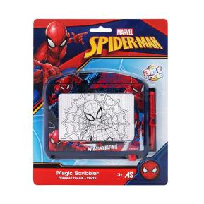 As company Art Greco Magic Scribbler Πίνακας Γράψε Σβήσε Spiderman Travel (1028-13063)