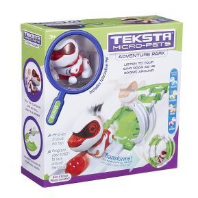 Teksta Micro-Pet Ρομπότ Playset Δεινοσαυράκι