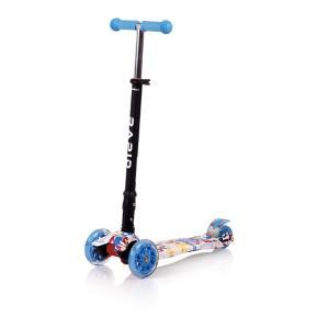 Lorelli Scooter Πατίνι Rapid Τρίτροχο με Φωτιζόμενους Τροχούς Blue Tracery 10390040003