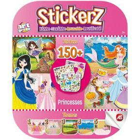 Αυτοκόλλητα Stickerz Κόλλα - Ξεκόλλα - Οι Πριγκίπισσες μου