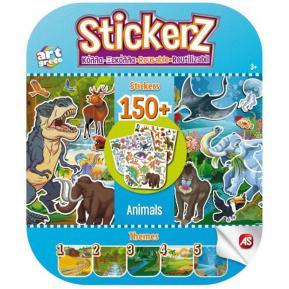 Αυτοκόλλητα Stickerz Κόλλα - Ξεκόλλα - Τα Ζωάκια Μου