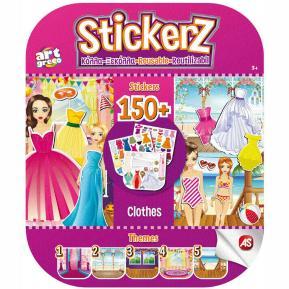 Αυτοκόλλητα Stickerz Κόλλα - Ξεκόλλα - Τα Ρούχα μου