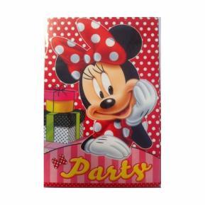 Προσκλήσεις για πάρτυ - Minnie Mouse 5τμχ