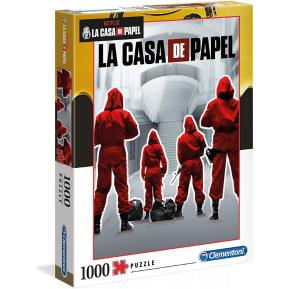 Clementoni Παζλ 1000τμχ La Casa De Papel - The Money Heist 1260-39532
