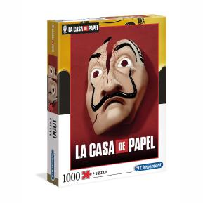 Clementoni Παζλ 1000τμχ La Casa De Papel - The Money Heist 1260-39533