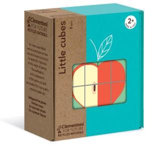 Clementoni Eco Puzzle Κύβοι Φρούτα 6 τμχ (1265-16224)