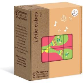 Clementoni Eco Puzzle Κύβοι Αντικείμενα 6 τμχ (1265-16229)