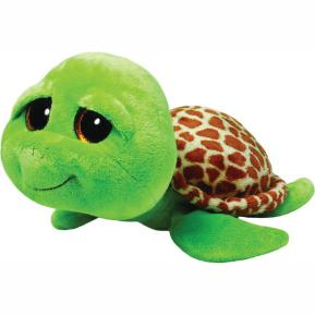 Ty Λούτρινο Χελώνα Πράσινη 15εκ.