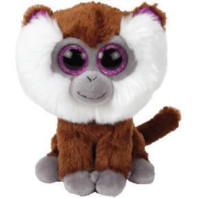 Ty Λούτρινο Μαϊμού Με Μούσια 15εκ.