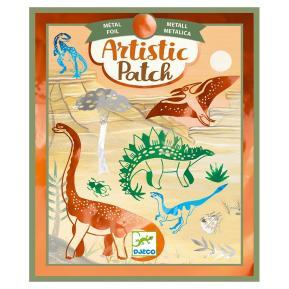 Djeco Artistic Μεταλλικό Κολάζ Δεινόσαυροι (09463)
