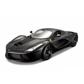 Bbruago 1:18 Ferrari LaFerrari (18-16901-Matt Black)
