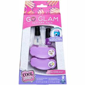 Spin Master Cool Maker: Go Glam Pattern Pack Nail Stamper - Daydream - Μωβ