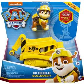 Spin Master Paw Patrol - Rubble Bulldozer Vehicle with Pup