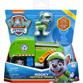 Spin Master Paw Patrol Rocky Recycle Truck with Pup 20114325