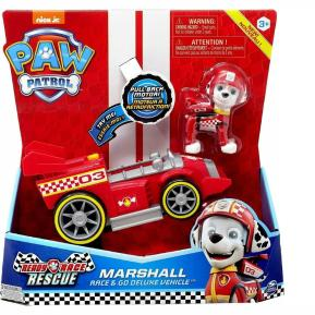 Spin Master Paw Patrol Ready Race Rescue Marshall Race & Go Deluxe Vechicle 20119527