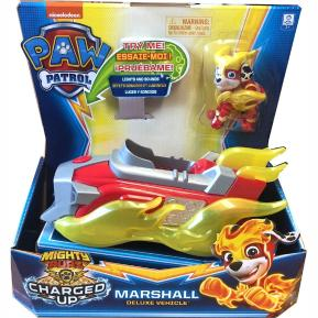 Spin Master Paw Patrol Charged Up Marshall Deluxe Vehicle