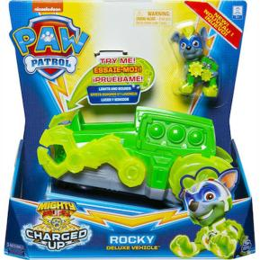 Spin Master Paw Patrol Charged Up Rocky Deluxe Vehicle