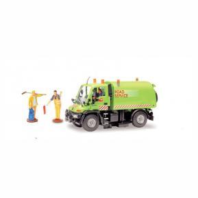 Dickie Toys Road Service Πράσινο Όχημα 21cm (203414492)