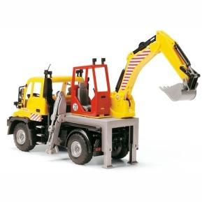 Dickie Toys Road Service Όχημα Εκσκαφέα 21cm (203414492)