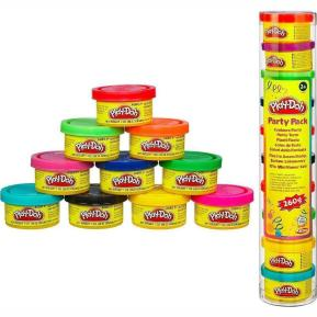 Play-Doh Party Mini Βαζάκια 10τμχ