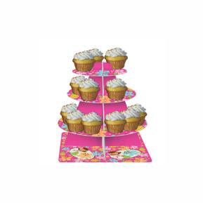 Βάση για Cupcakes - Pink Luau Fun